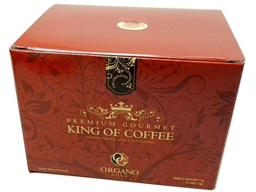 Organo Gold King of Coffee 3 Pack by Organo Gold