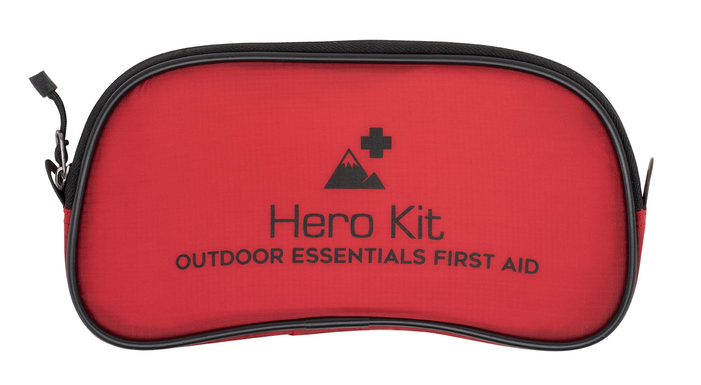 Outdoor and Travel First Aid Kit - Ideal for car, Travel, Outdoors, Camping, Boating, Sports and Home