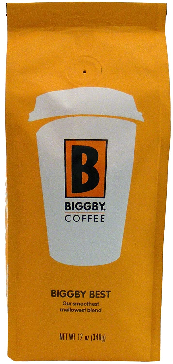 Amazon.com : BIGGBY Coffee, Best Blend, Ground Coffee, 12-Ounce ...