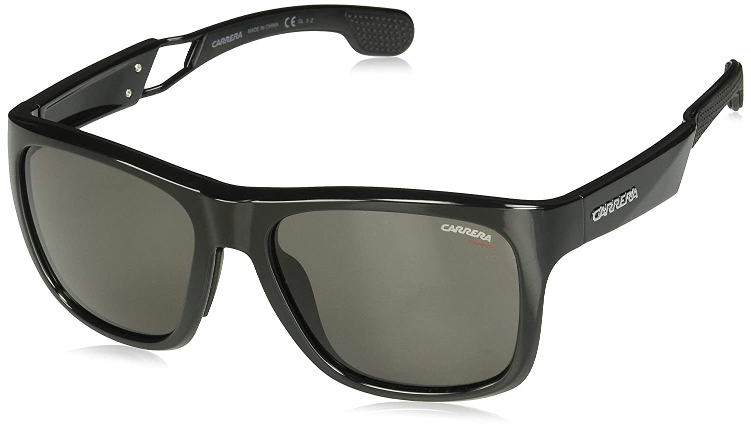 Amazon.com: Carrera Mens 4007/S Sol Polarizadas, color negro ...