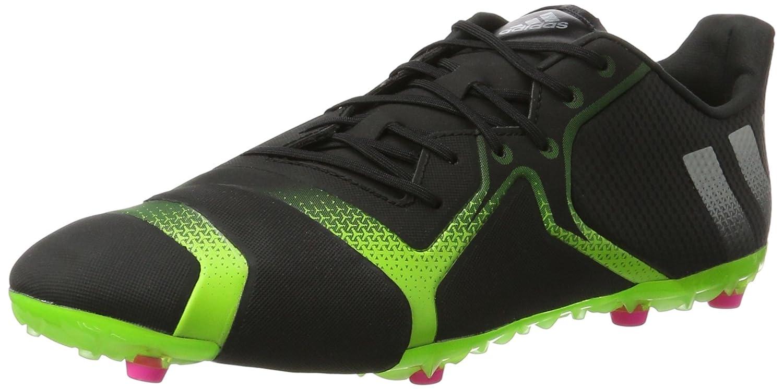 Adidas Herren Ace 16+ Fußballschuhe, Schwarz schwarz Grün Silver, 40 EU