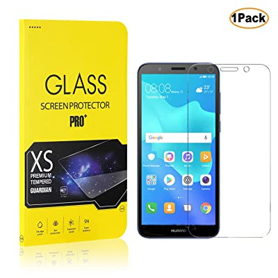 Screen Protector for Huawei Y5 2020, CUSKING 9H Hardness Tempered Glass Screen Protector for Huawei Y5 2020, Bubble Free, Easy Installation, 1 Pack: Baby