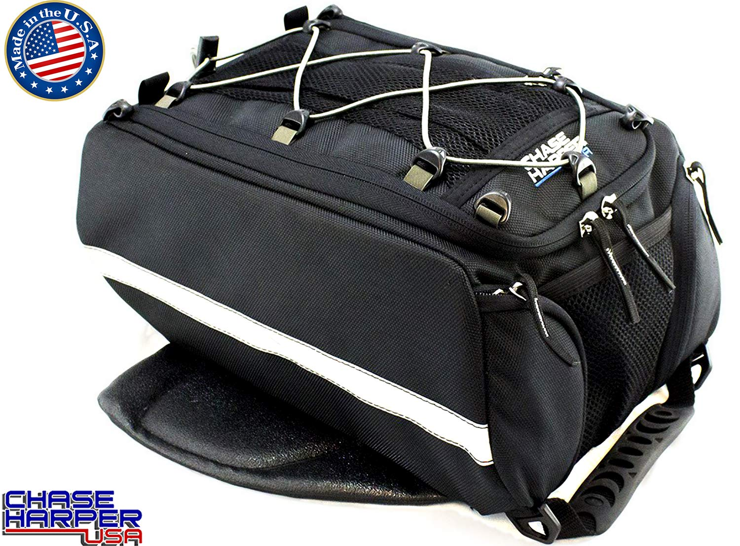 Chase HarperUSA1650 Magnetic Tank Bag - Water-Resistant, Tear-Resistant, Industrial Grade Ballistic Nylon with Anti-Scratch Rubberized Polyester Bottom, Strong Neodymium Magnets, 11.5''L x 10''W x 7''H