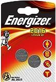 Energizer 2 Piles Lithium CR2016 3 V
