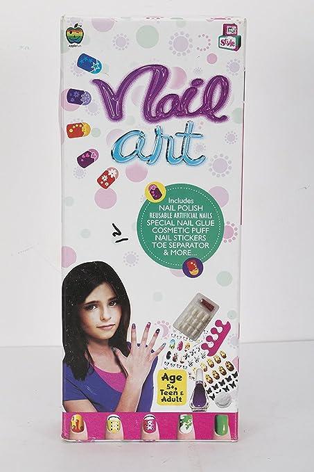 Amazon.com: Aaryan Enterprise Kids Nail Art Set For Girls: Toys & Games