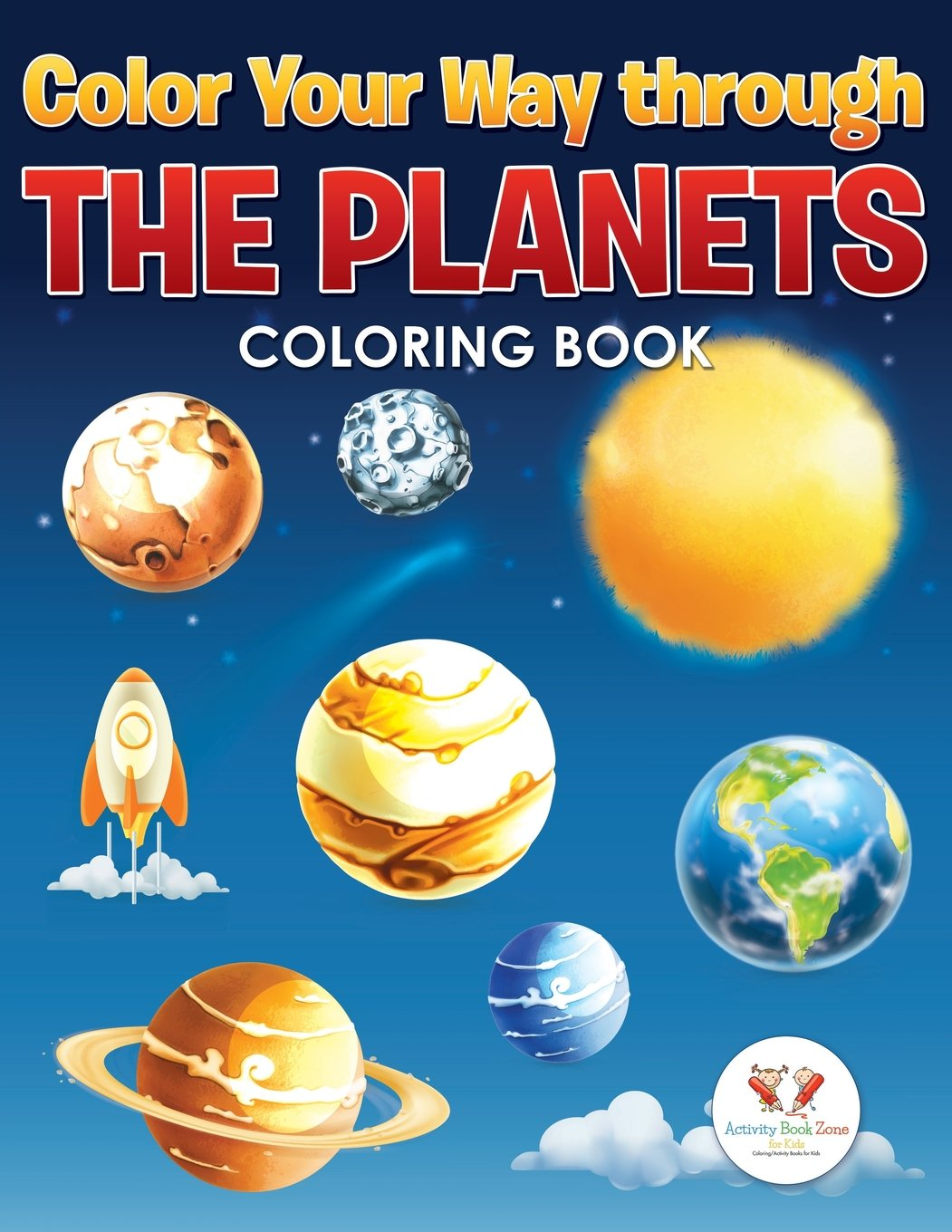Read Online Color Your Way Through the Planets Coloring Book pdf