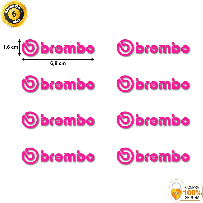 menta BREMBO Lot de 8 autocollants anticaloriques pour pinces de frein Original Menthe