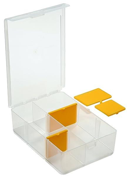Caja SBS para piezas pequeñas con 4separadores, ...