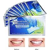 Sbiancanti Denti Strisce Professionale, iFanze Teeth Whitening kit, Teeth Whitening Strips, per Sbiancanti Denti, Riduce Sensibilità dei Denti e Rimuove le Macchie Dentali, 28pcs