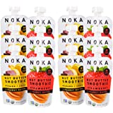 NOKA Nut Butter Smoothie Pouches   100% Organic Fruit And Nut Butter Squeeze Packs   Non GMO, Gluten Free, Vegan, 8g…