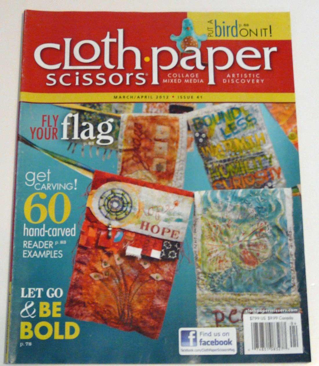 Cloth Paper Scissors Magazine Pages (March April 2012) pdf