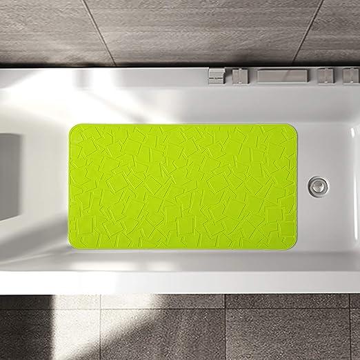 Large Rubber Safety Mat Slick Bath Tub Bathtub Shower Slip Safety Safe Bathroom