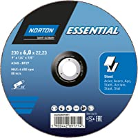 Disco de Desbaste para METAL-Norton Essential-230x6x22.23