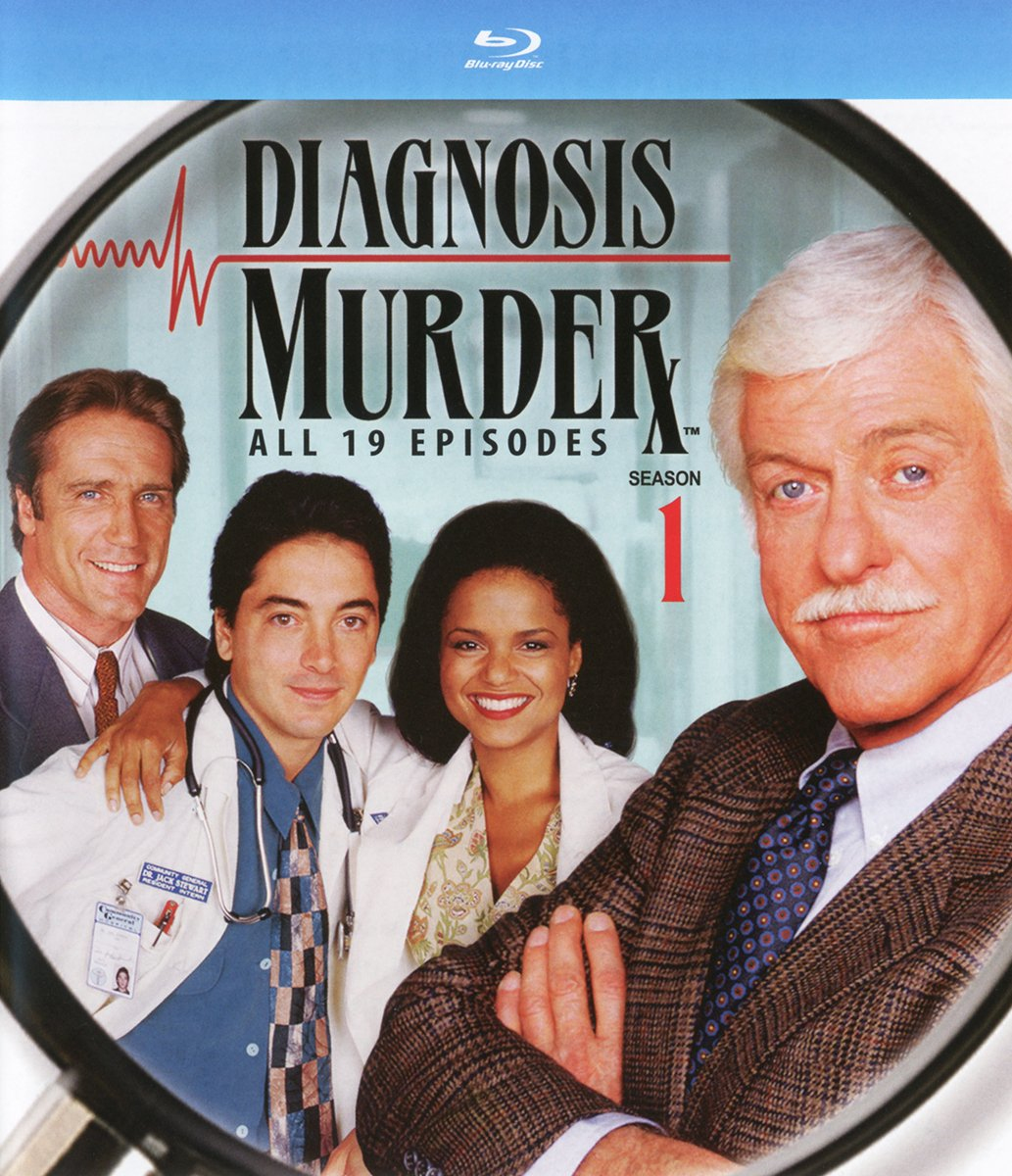 Blu-ray : Diagnosis Murder: The First Season (3 Pack, 3PC)