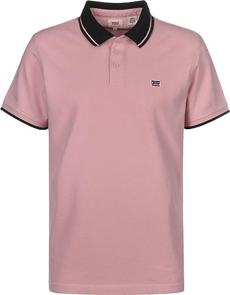 Levis ® Breaker Logo Polo Pink/Black: Amazon.es: Ropa y accesorios