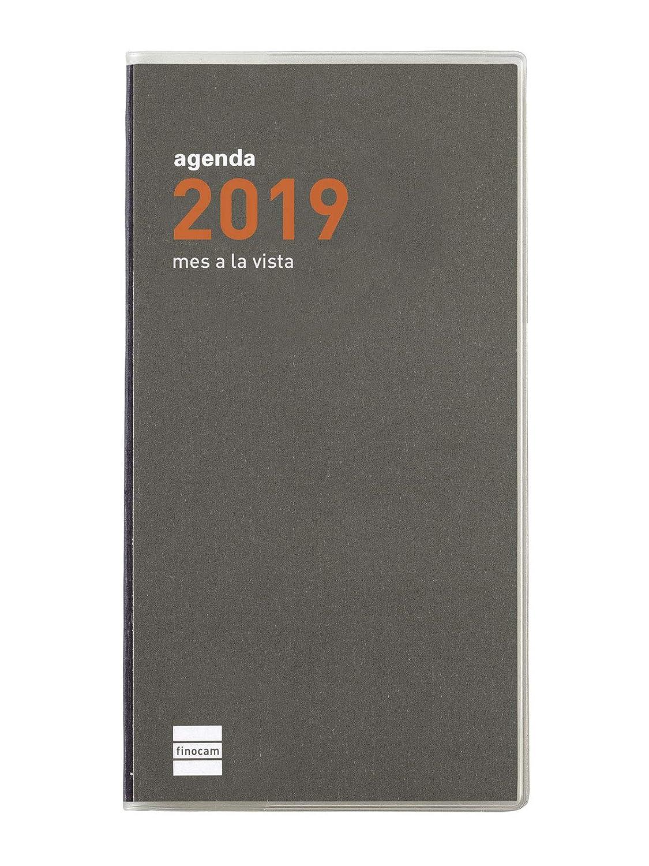Agenda de bolsillo 2019 mes vista catalán