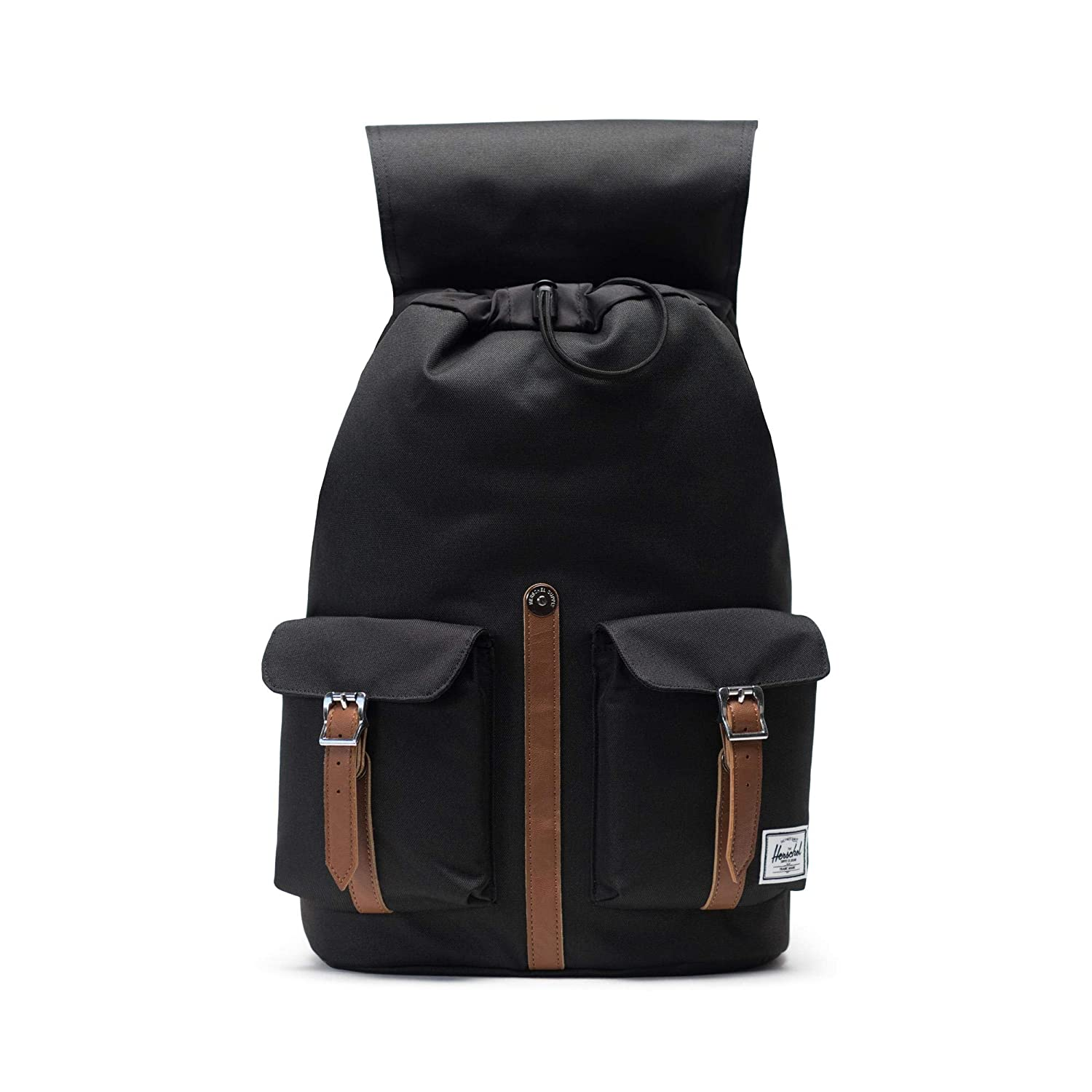 Herschel Dawson Backpack – Black Tan Synthetic Leather