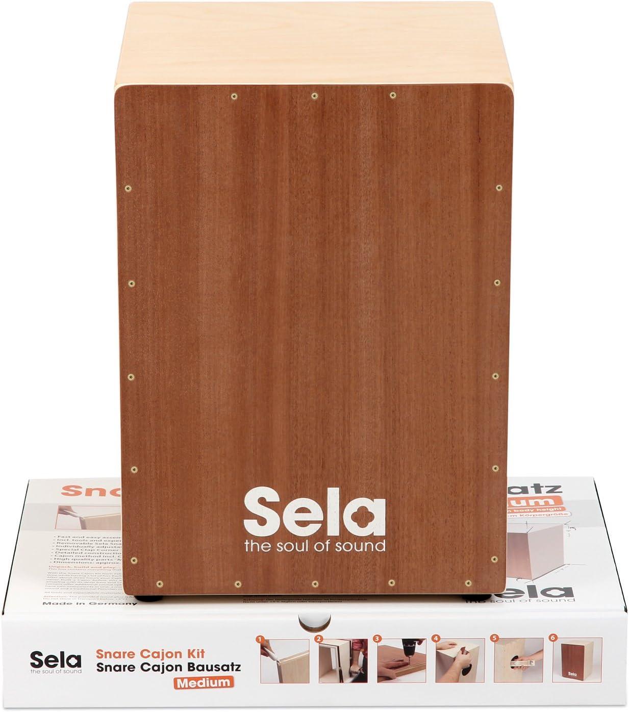 Sela Snare - Cajón, kit de montaje, mediano