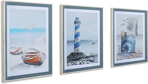 3 Pieces Framed Wall Art