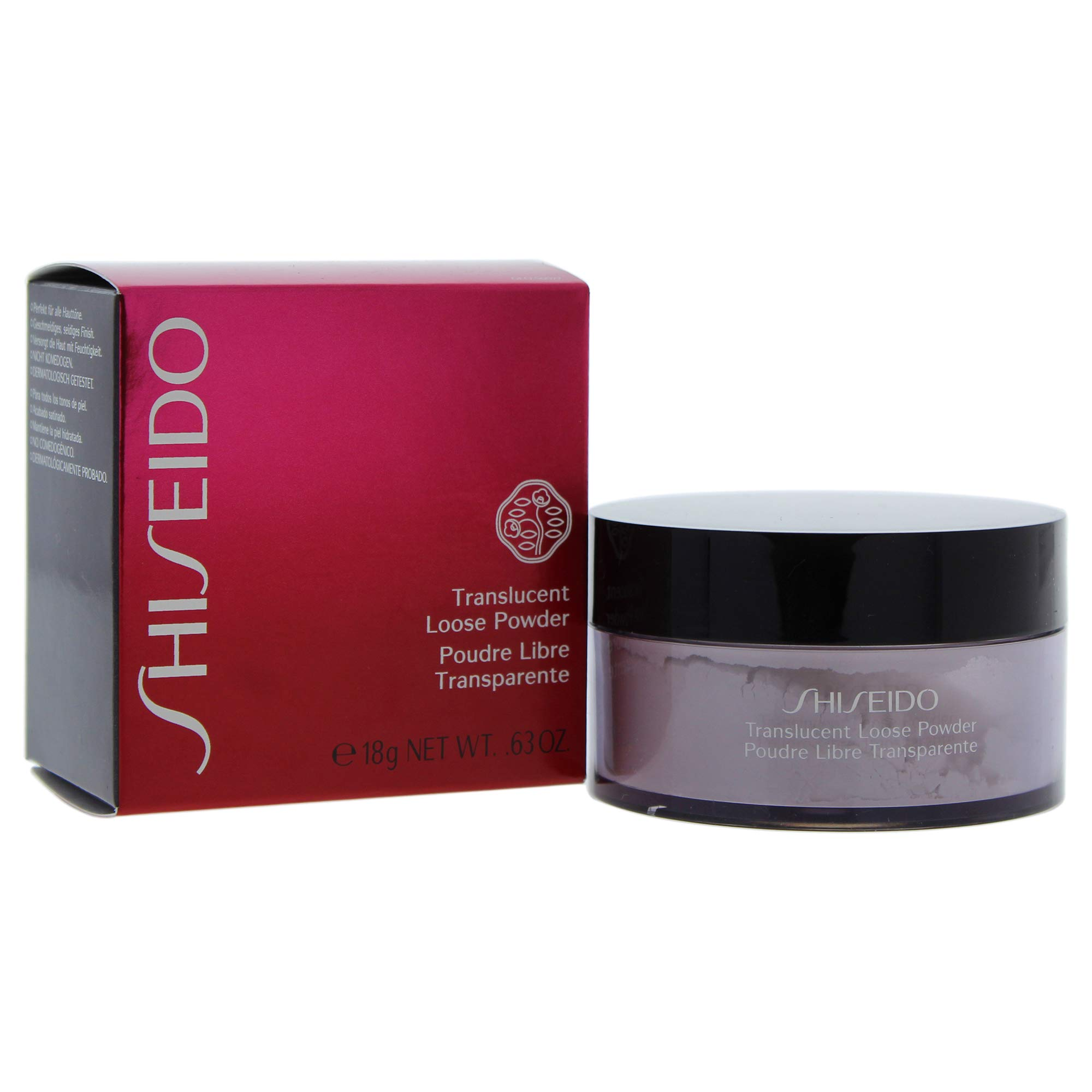 Shiseido Translucent Loose Powder By Shiseido for Women - 0.63 Oz Powder, 0.63 Oz by Shiseido