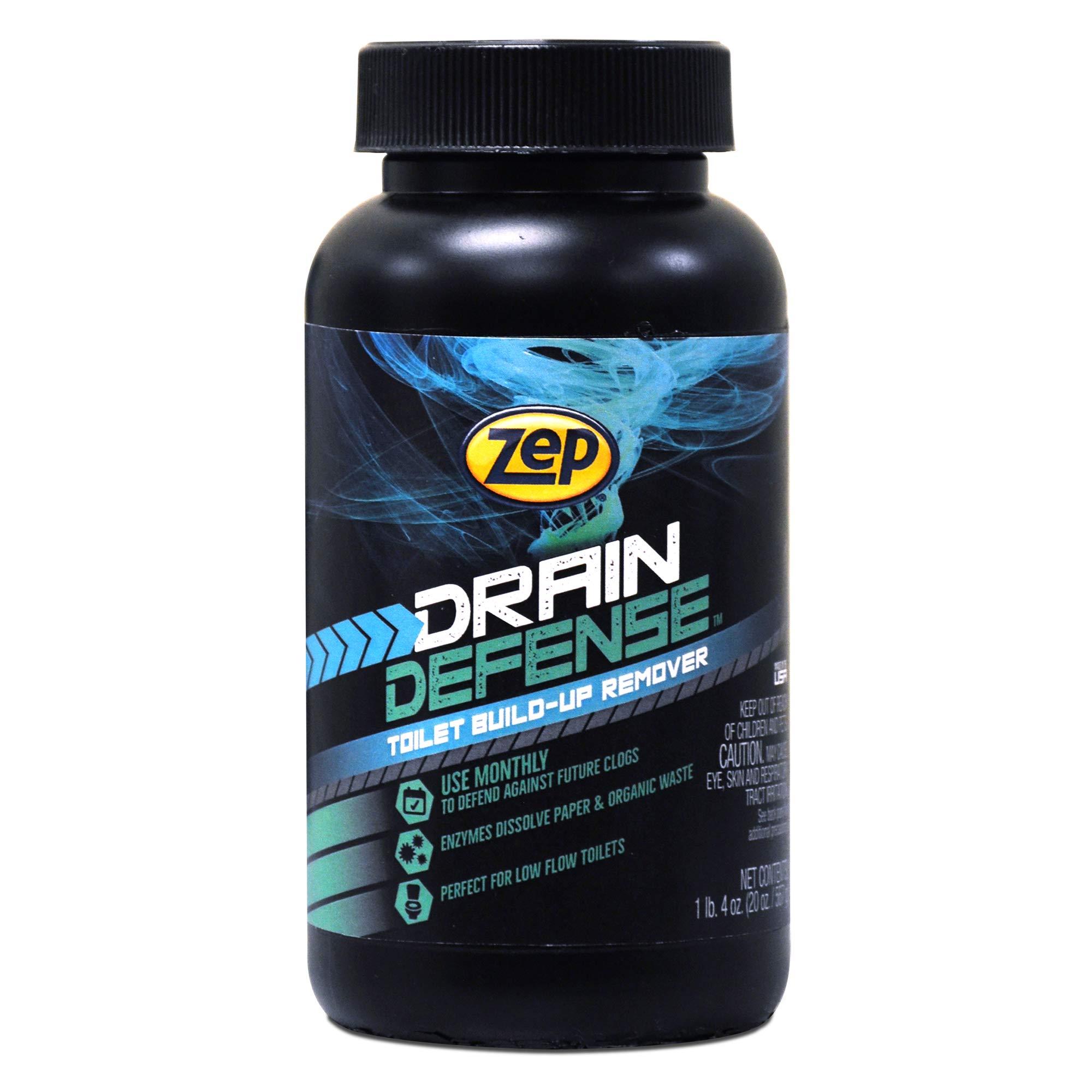 Zep Drain Defense Toilet Care Tune Up 20 ounce Powder ZUTTU20 (Case of 4)