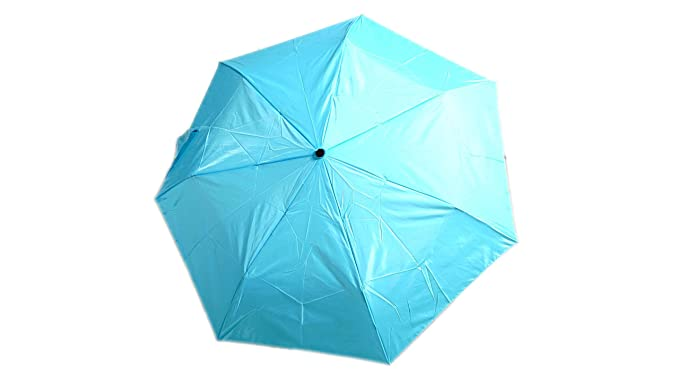 Amazon.com | Raines One-Touch Open Backpack Umbrella with Standard Canopy Coverage, Light Blue, 1-pack | Umbrellas