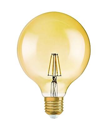 Lámpara Osram LED Vintage Edition 1906, forma de bola con casquillo E27, no regulable