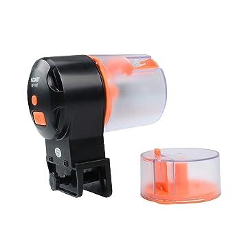 NICREW Alimentador Automático Acuario, Dispensador de Comida de Peces Alimentador Auto Temporizador, Fish Tank