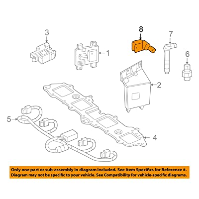 General Motors 12560228, Engine Crankshaft Position Sensor: Automotive