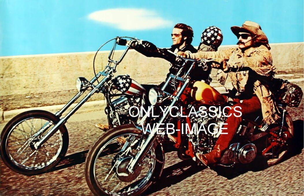 EASY RIDER MOVIE POSTER 24x36 in FONDA HOPPER HARLEY CHOPPER MOTORCYCLES B/&W