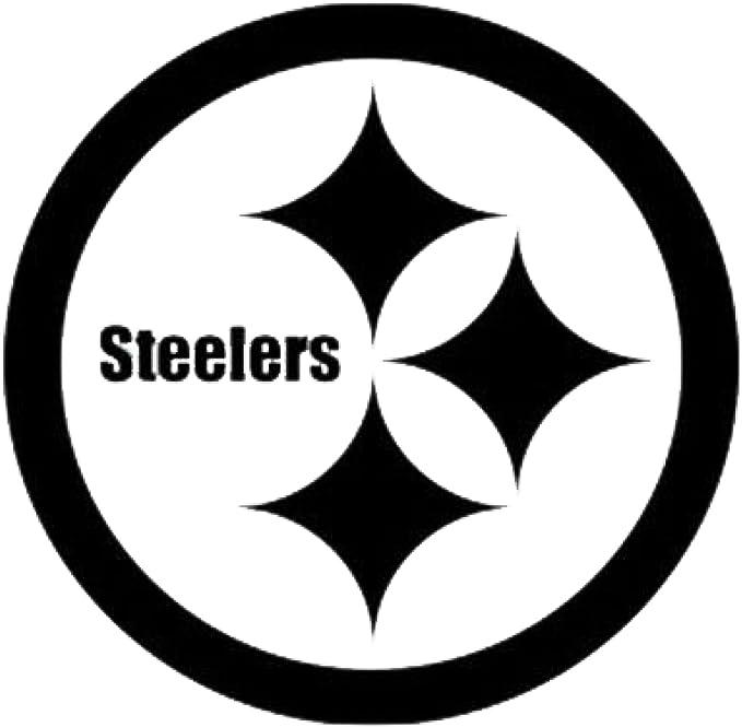 "Pittsburgh Steelers Vinyl Window Decal 2.25/"" x 15/"""