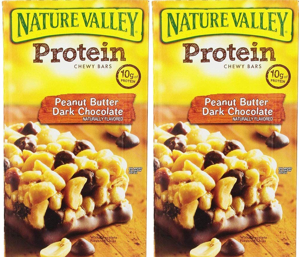 Nature Valley Protein Bars, Peanut Butter Dark Chocolate, 26 Bars (2 Boxes) by Nature Valley (Image #1)