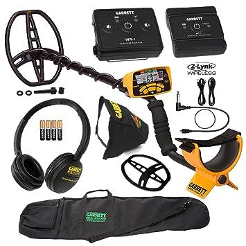 Garrett Ace Detector de metales 400 W/sistema de audio inalámbrico z-lynk &