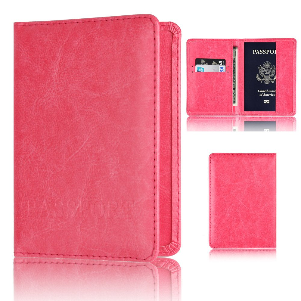 IMJONO Pasaporte Poseedor Protector Billetera Negocio Tarjeta Suave Pasaporte Cubrir: Amazon.es: Equipaje