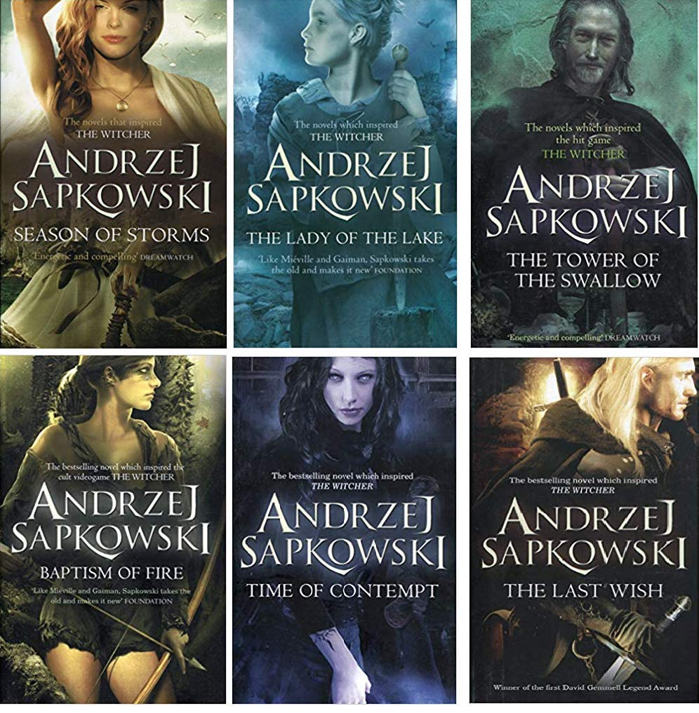 Andrzej Sapkowski Witcher Series Collection 6 Books Set: Andrzej Sapkowski,  The Last Wish By Andrzej Sapkowski 978-0316438964, 0316438960,  9780316438964, Season of Storms By Andrzej Sapkowski 978-0316441629,  0316441627, 9780316441629, Baptism of Fire By