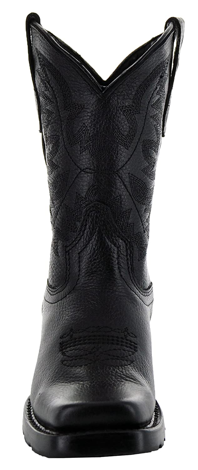 Soto Boots Broad Square Toe Kids Western Boots by K3004