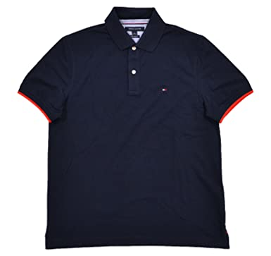 344d6a27 Tommy Hilfiger Mens Custom Fit Polo Shirt at Amazon Men's Clothing ...
