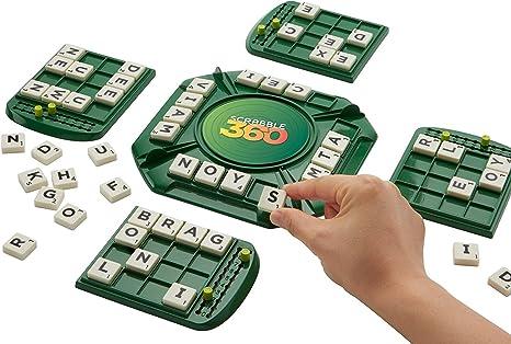Mattel Games- Scrabble 360º,juego de mesa (Mattel FFP75) , color/modelo surtido: Amazon.es: Juguetes y juegos