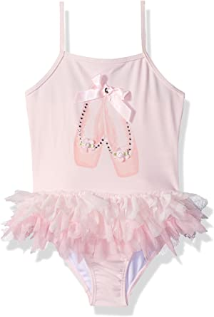Kate Mack Girls Prima Ballerina Tutu Swimsuit