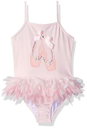 d8bfec5e4c76f Amazon.com: Kate Mack Girls' Prima Ballerina Tutu Swimsuit: Clothing