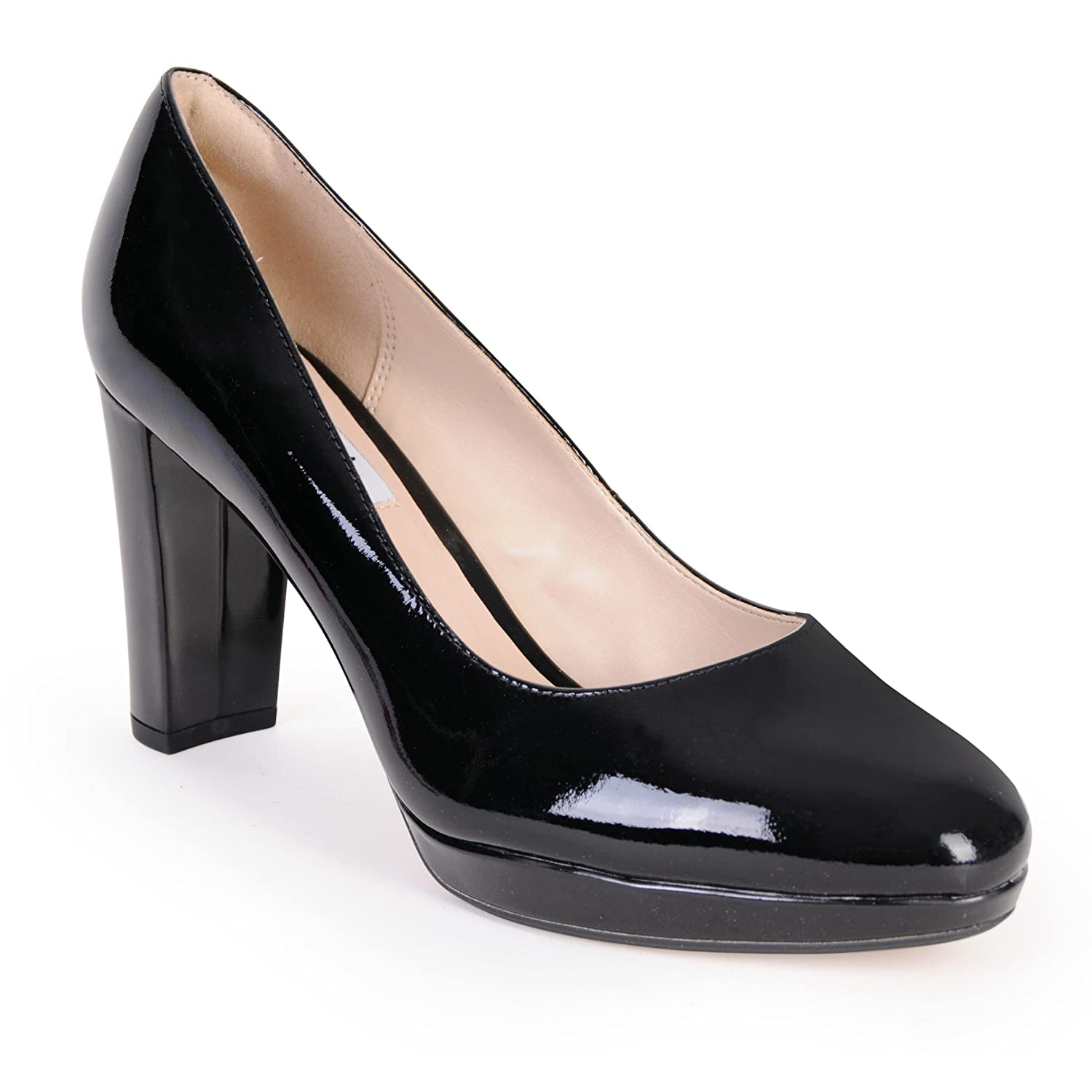 Clarks Women's Kendra Sienna Closed-Toe Pumps: Amazon.co.uk: Shoes & Bags
