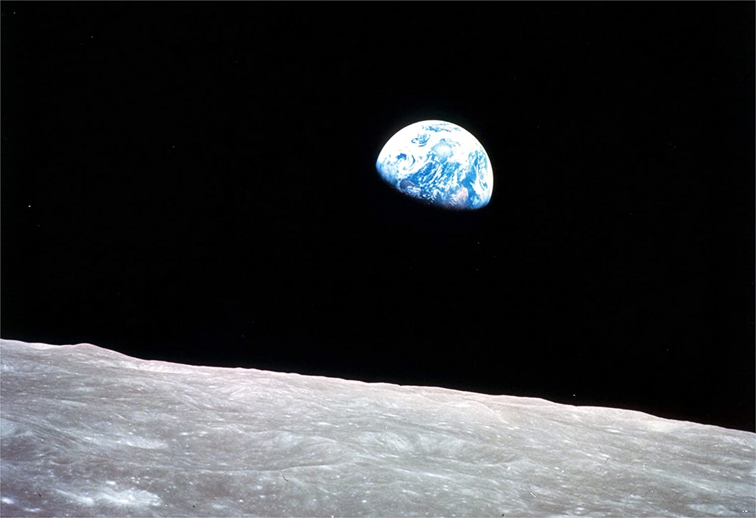 The rediscovery of Earth --- from Apollo 8