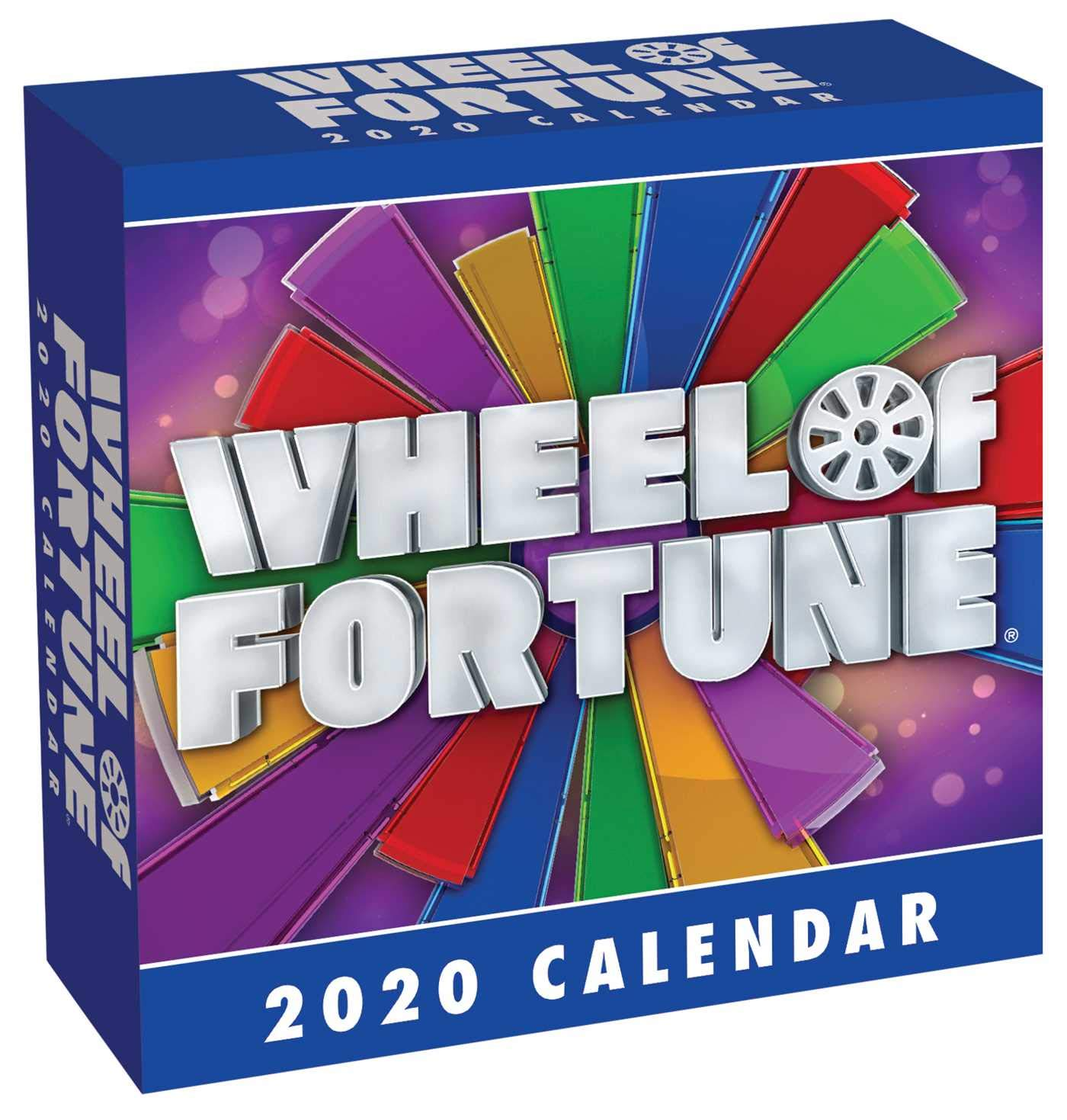 """Box for """"wheel of fortune!"""" daily calendar."""