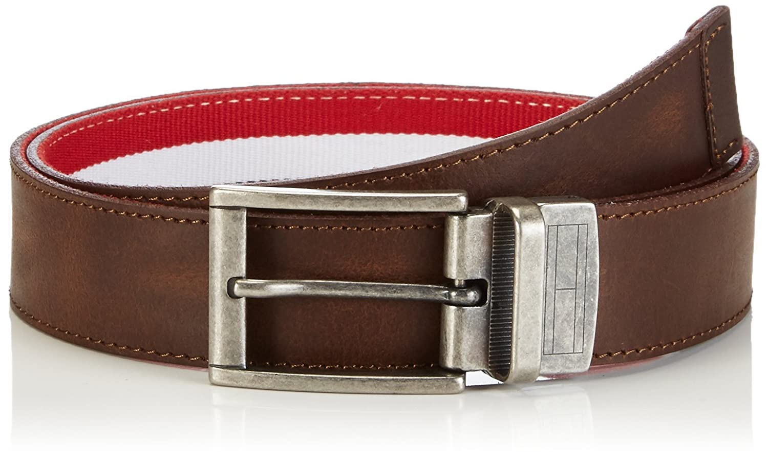 Hilfiger Denim Herren Gürtel THDM REVERSIBLE LE & CO BELT 2