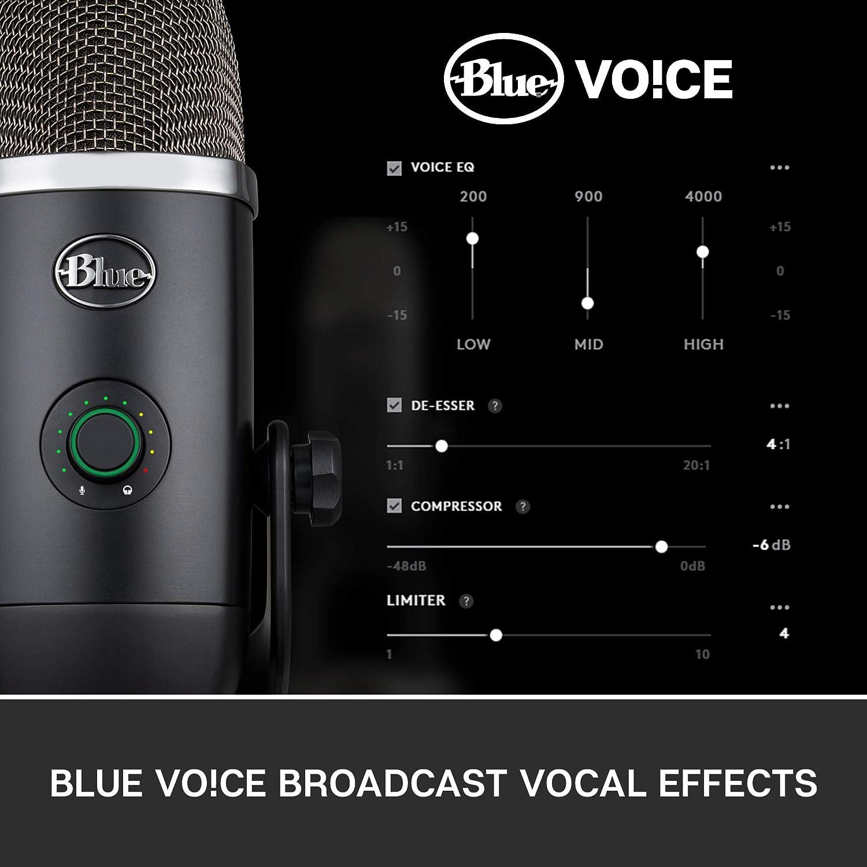 Blue Yeti X Professionelles Kondensatormikrofon Mit Elektronik