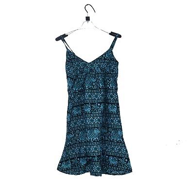 515f5306c3f CS03B epalese Elephant Print Contton Women s Sundress Dress Nepal ...