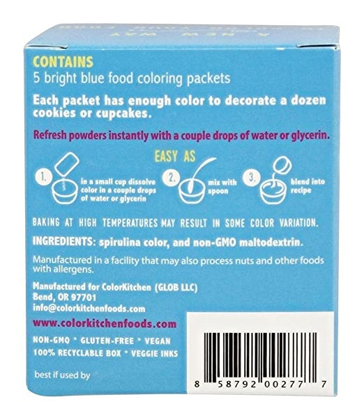 Amazon.com: ColorKitchen Food Color Packets - 5 count \