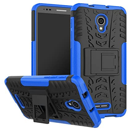 Amazon.com: Alcatel pop4case, 2 en 1 resistente, fuerte ...