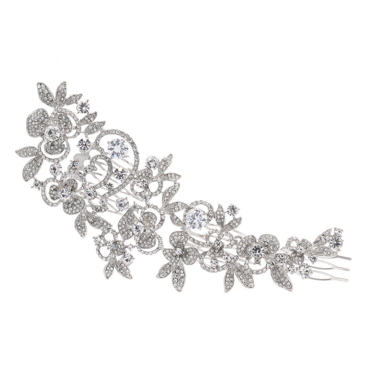 Wedding Jewelry Bridal Hair Comb Hair Accessories Hair Clips With Rhinestones Epingle Cheveux Mariage Hair Ornament