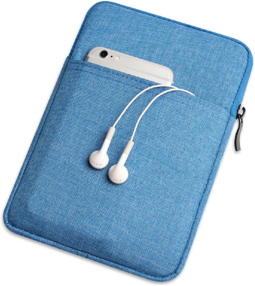 B07DQFY49Q QIUQIU Nylon Cover Pouch Bag Sleeve for Amazon Kindle Paperwhite/Voyage/All-New Kindle(8th Generation, 2016)/Kindle Oasis E-Reader (Denim Blue) 714wnhvwplL